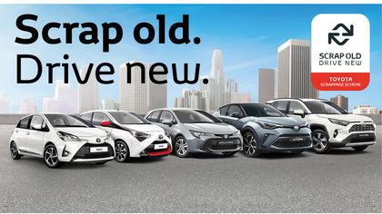 Scrappage offers on new cars in Carlisle Cumbria St Boswells Scottish Borders Dumfries Toyota Lexus Hyundai