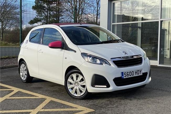 Peugeot 108 Active Top 1.0 5dr Manual