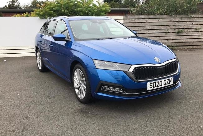 2020 Skoda Octavia Estate 2.0 TDI SE L First Edition 5dr