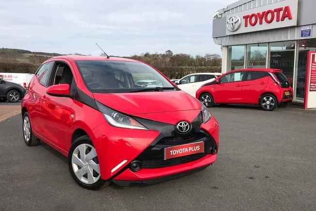 2018 Toyota AYGO 1.0 VVT-i X-Play 5dr x-shift