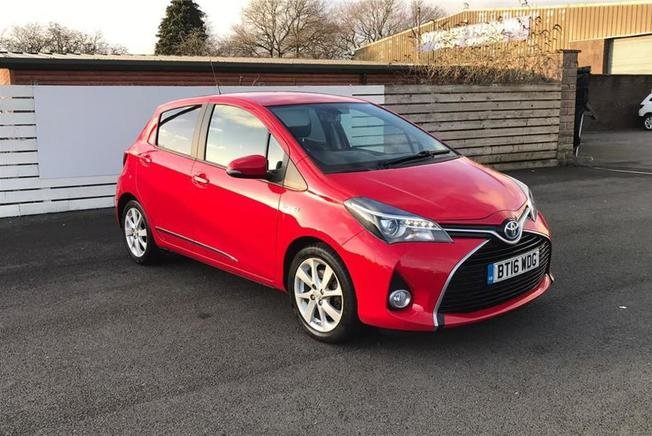 Toyota YARIS Excel  Vvt-I 1.5 Hybrid  134 HP 5 Door Automatic