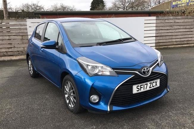 2017 Toyota YARIS 1.4 D-4D Icon 5dr