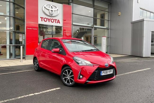 2018 Toyota YARIS 1.5 Hybrid Icon Tech 5dr CVT