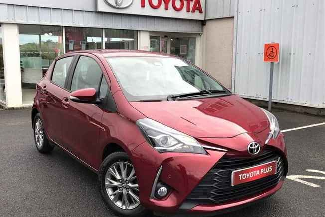 2017 Toyota YARIS 1.5 VVT-i Icon Tech 5dr