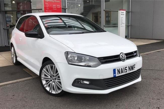 2015 Volkswagen Polo 1.4 TSI ACT BlueGT 3dr DSG